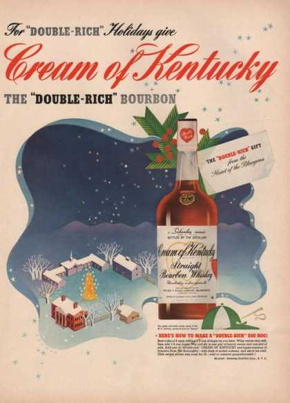 Cream of Kentucky Bourbon Whiskey (1941)