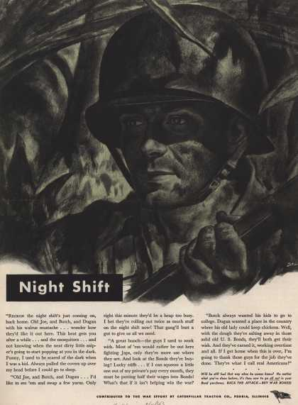Caterpillar Tractor Co.'s War Bonds – Night Shift (1943)
