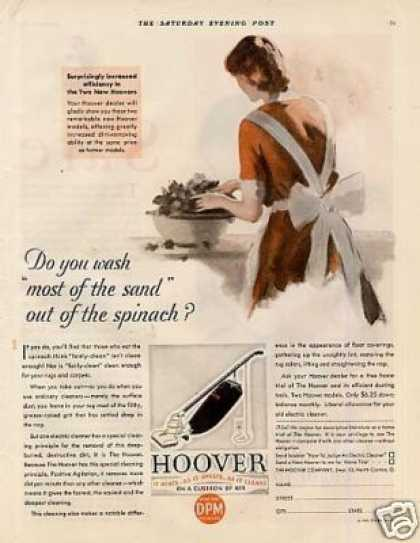 Hoover Vacuum Cleaner Color (1930)