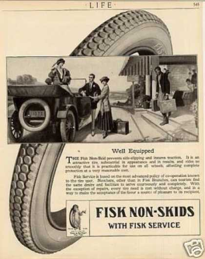 Fisk Tire (1915)