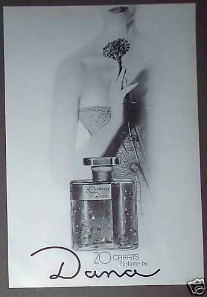 20 Carrats Perfume By Dana (1962)