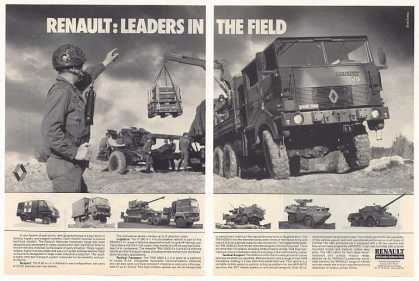 Renault Military Vehicles Leaders in Field (1986)