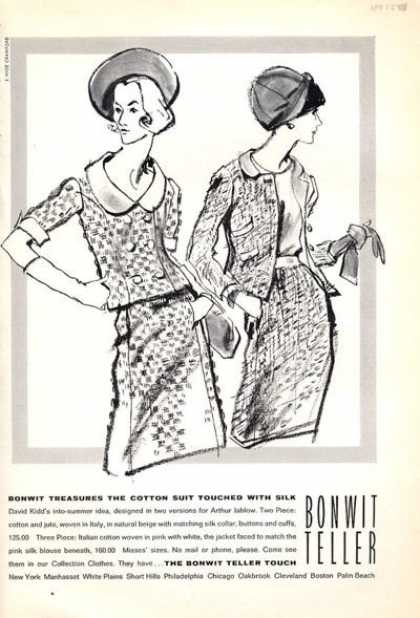 Bonwit Teller David Kidd Fashion Suit (1965)