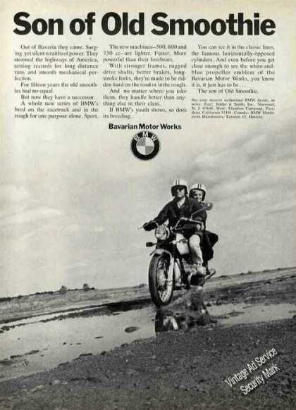 "Bmw Motorcycle ""Son of Old Smoothie"" (1970)"