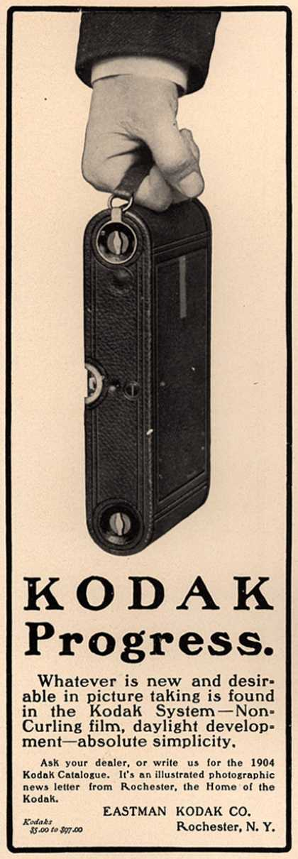 Kodak – Kodak Progress. (1904)