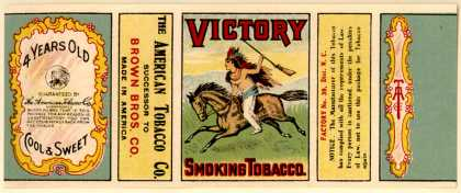 American Tobacco Co.'s Smoking Tobacco – Victory