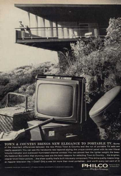 Philco Town & Country Portable Television (1962)