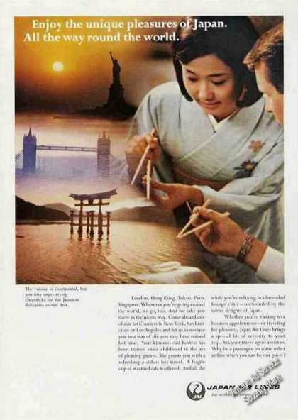 "Japan Airlines ""Unique Pleasures of Japan"" (1968)"