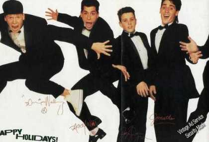 New Kids Large Foldout Color Photo (1989)