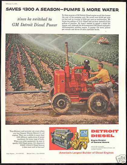 GM Detroit Diesel Engine Farmer Photo (1956)