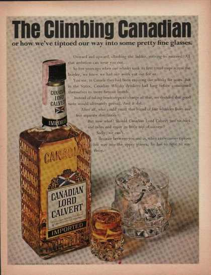 Canadian Lord Calvert Whisky (1969)