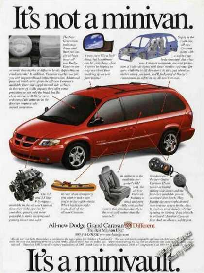 "Dodge Grand Caravan ""It's a Minivault"" (2001)"