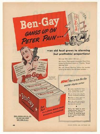 Ben-Gay Gangs Up On Peter Pain (1948)