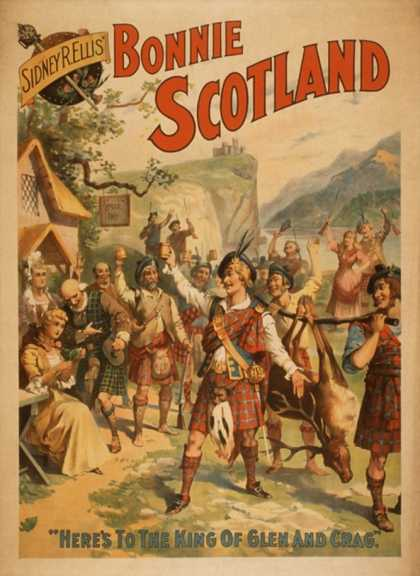 Sidney R. Ellis' Bonnie Scotland Scottish Play Poster No.4