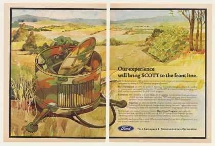 Ford Aerospace Army SCOTT Satellite Comm (1983)