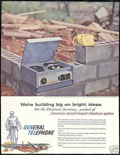 General Telephone Electronic Secretary (1958)