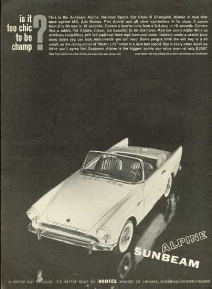 Sunbeam Alpine Sports Car (1961)