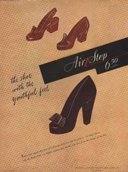 Youthful Feel Womens Air Step Shoes (1944)