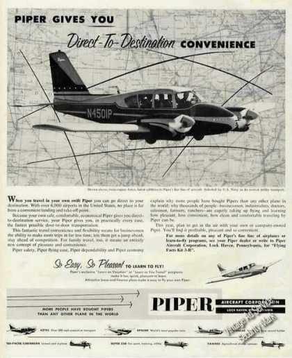 Piper Aztec Photo Direct-to-desti (1960)