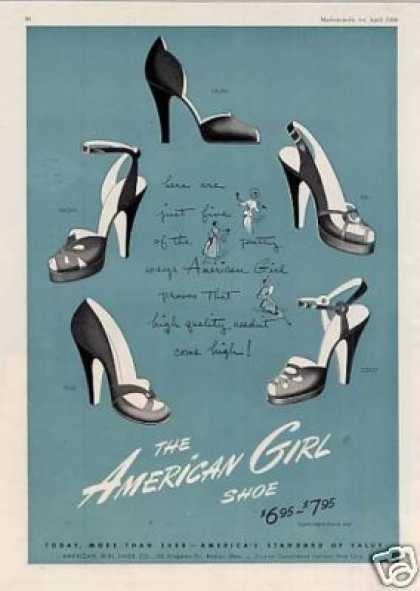 American Girl Shoes (1950)