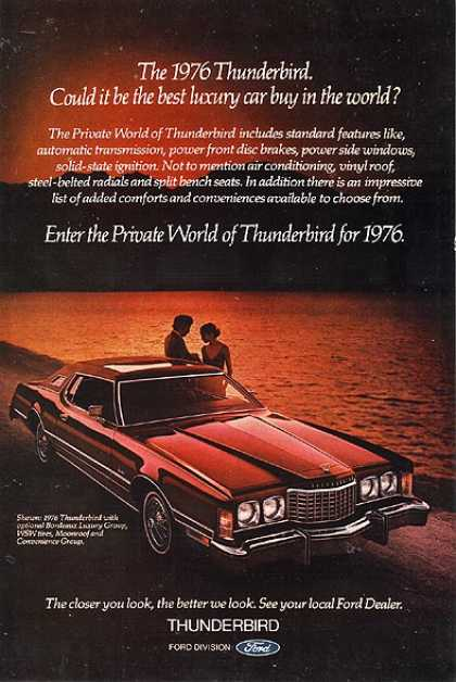 Ford's T-Bird (1976)