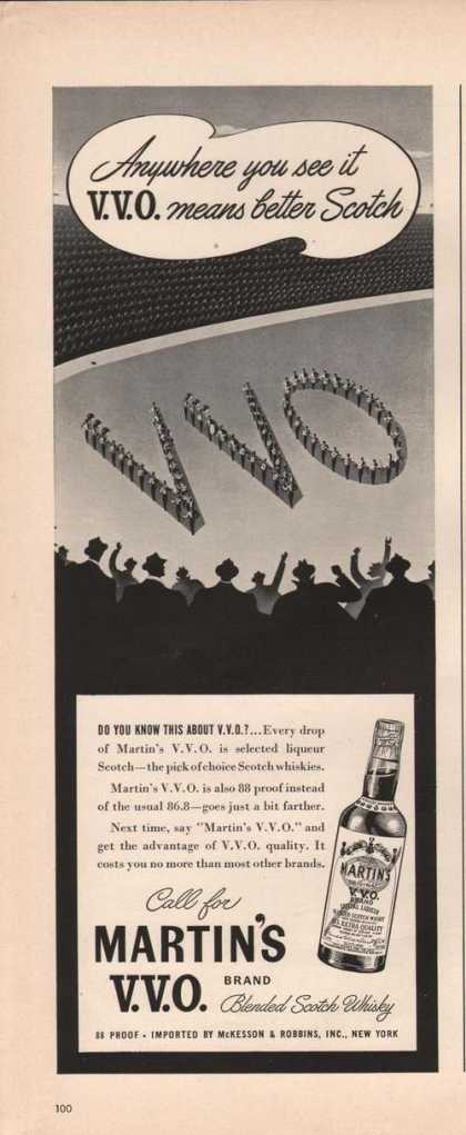 Vvo Means Better Scotch Martins (1942)