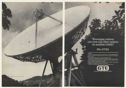 GTE Telephone Satellite Earth Station (1980)