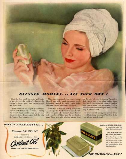Palmolive Company's Palmolive Soap – Blessed Moment...All Your Own (1941)