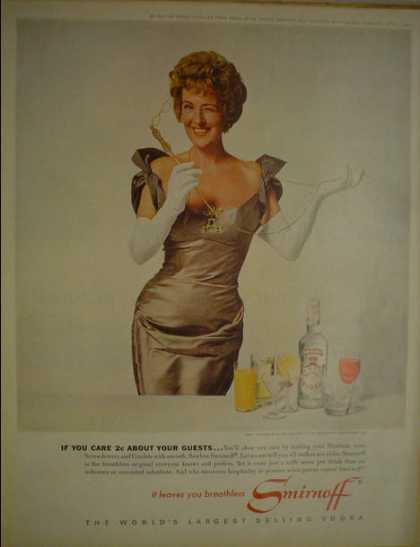 Smirnoff Vodka It leaves you breathless (1962)