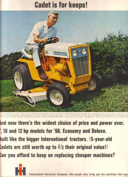 International Harvester's Cub Cadet (1966)