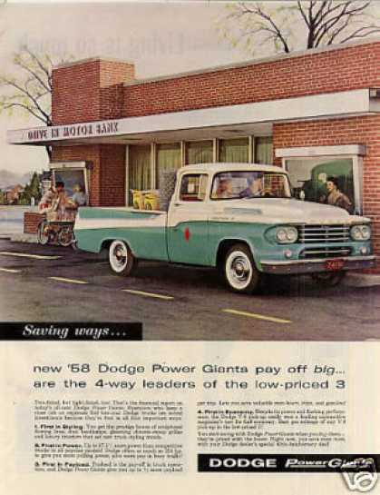 Dodge Pick-up Truck (1958)