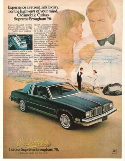 '77 1978 Olds Oldsmobile Cutlass Supreme Brougham (1977)