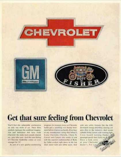 "Chevrolet ""Get That Sure Feeling"" (1967)"