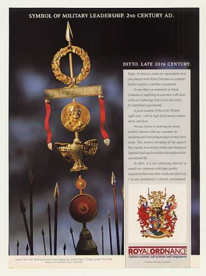 Royal Ordnance Symbol of Military Leadership (1989)