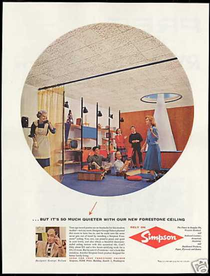 George Nelson Designer Simpson Products (1958)