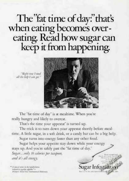 "Overcome the ""Fat Time of Day"" With Sugar Rare (1970)"