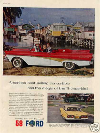 Ford Convertible Car (1958)