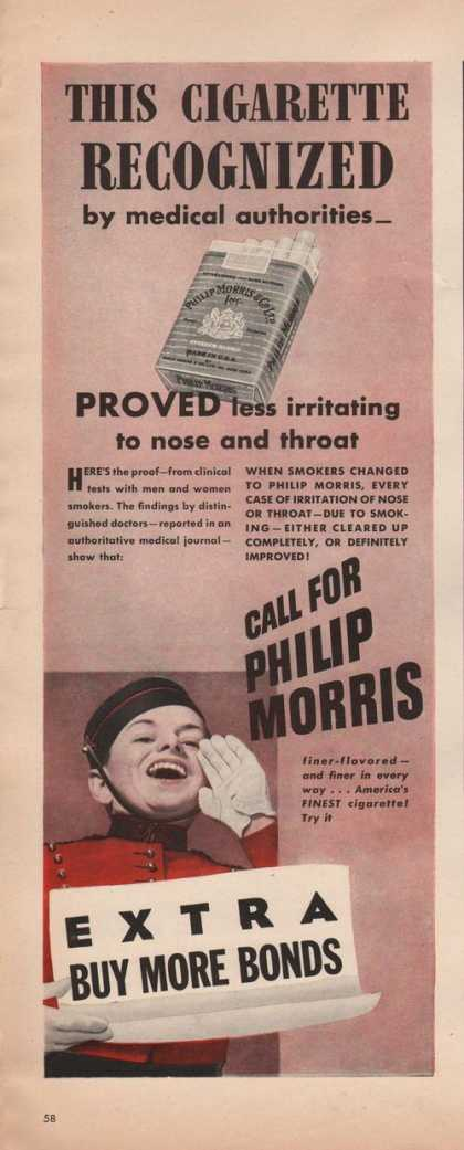 Call for Philip Morris Cigarettes (1942)
