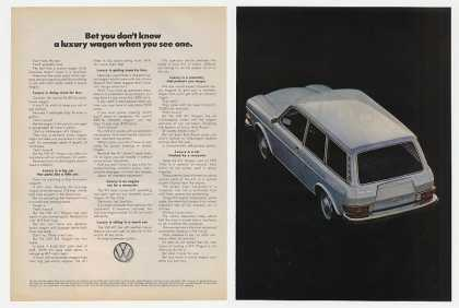 VW Volkswagen 411 Luxury Wagon (1972)