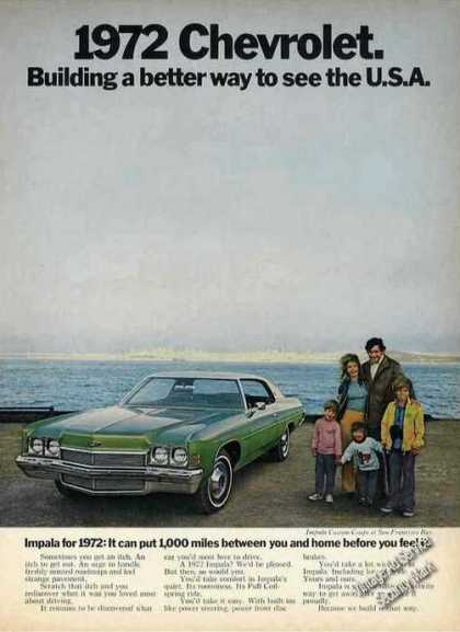 Chevrolet Impala Better Way To See Usa (1972)