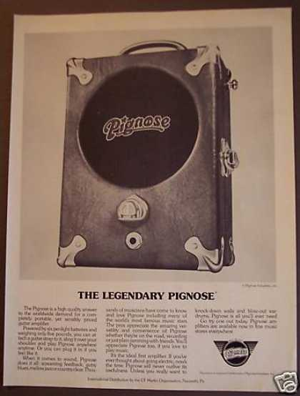 Legendary Pignose Guitar Amplifier (1974)