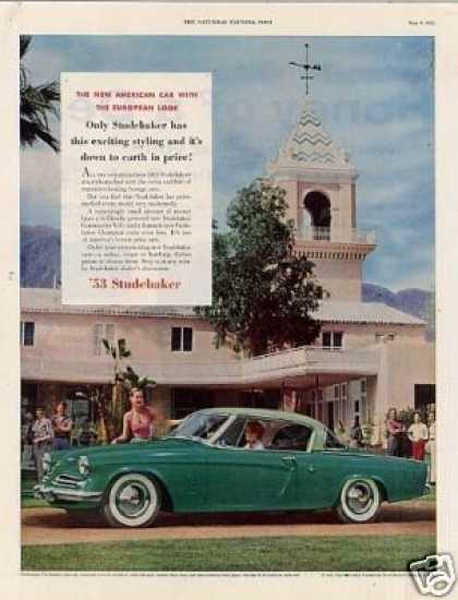 Studebaker Commander V-8 Starliner Car (1953)