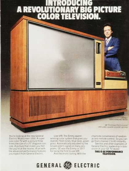 General Electric Color Television