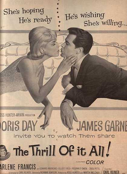 The Thrill of it All (Doris Day and James Garner) (1963)