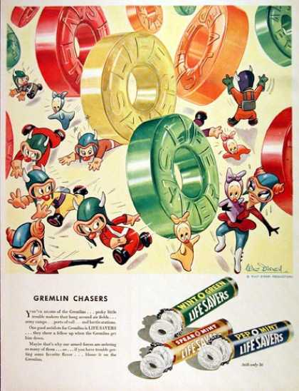 Lifesavers Candy (1943)