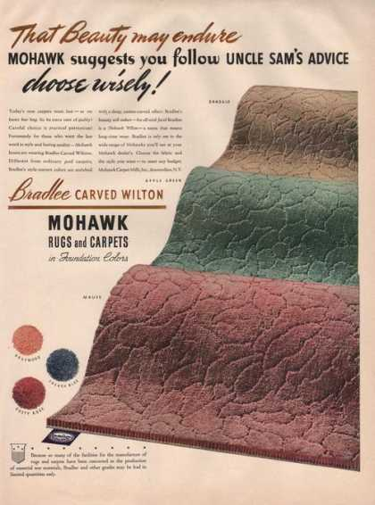 Mohawk Rugs and Carpets (1942)