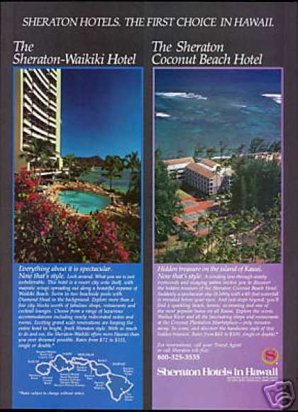 Hawaii Sheraton Waikiki & Coconut Beach Hotel (1983)