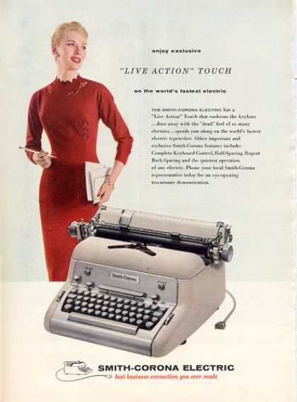 Smith Corona Electric Typewriter (1956)