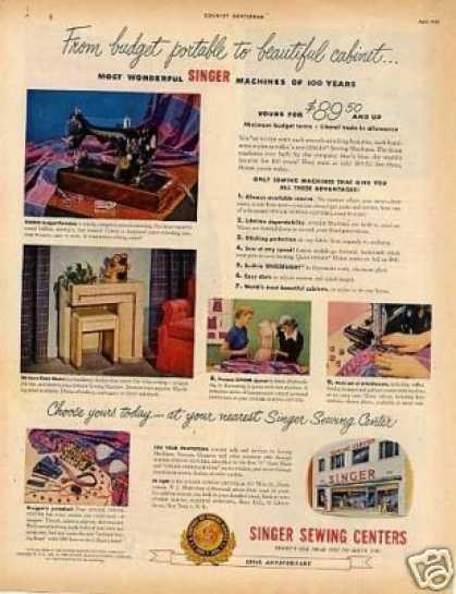 Singer Sewing Machine (1951)