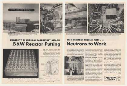 Ford Nuclear Reactor Babcock & Wilcox (1957)